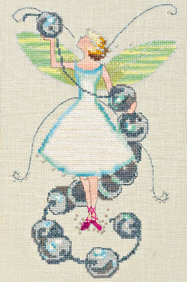 Stitching Fairies-Bead Fairy - Nora Corbett