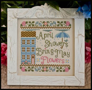 April Showers - Country Cottage Needleworks