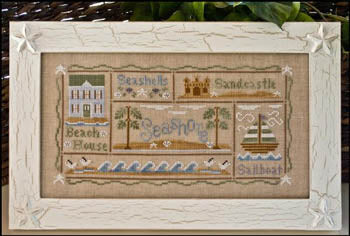 A Day at The Beach - Country Cottage Needleworks