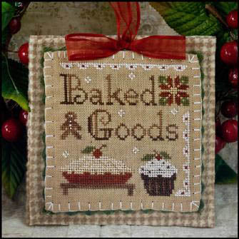 Baked Goods - 2011 Ornament 7 - Little House Needleworks