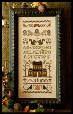 Autumn Band Sampler - Little House Needleworks