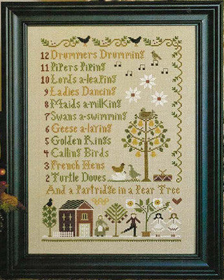 12 Days of Christmas - Little House Needleworks
