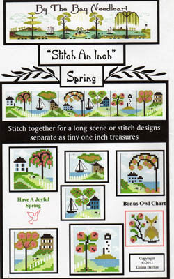 Stitch an Inch Spring - By The Bay Needleart