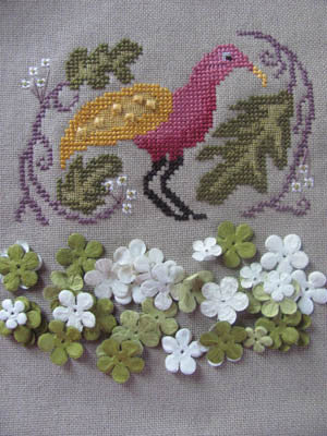 Birds of a Funky Feather #1 - By The Bay Needleart