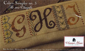 Calico Sampler 3 - Summer House Stitche Workes