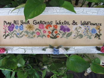 Garden of Wild Flowers - By The Bay Needleart