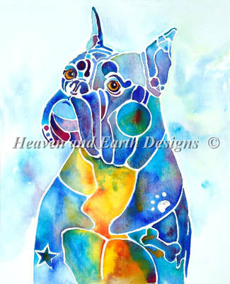 Boxer Blues - Heaven and Earth Designs