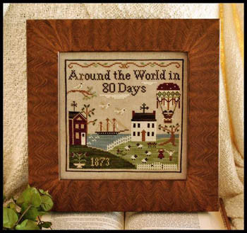 Around the World in 80 Days - Little House Needleworks
