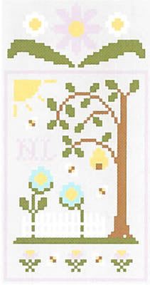 Spring Social - Honeybee Garden - Country Cottage Needleworks
