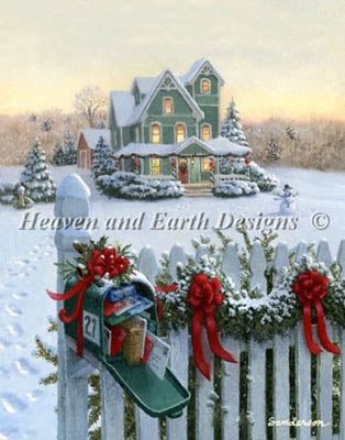 Christmas Mailbox (Mini) - Heaven and Earth Designs