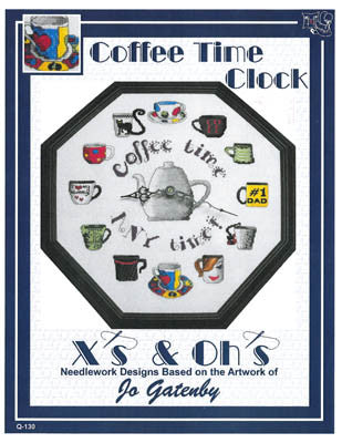 Coffee Time Clock - Xs and Ohs