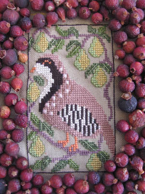 Birds of a Funky Feather #5 - By The Bay Needleart