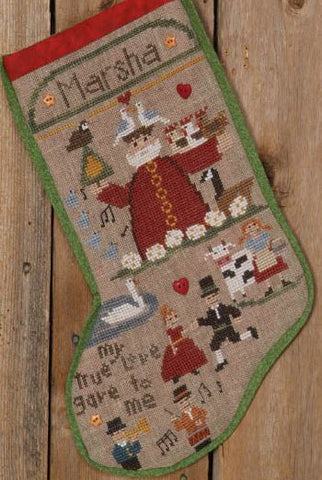 12 Days of Christmas Stocking - Bent Creek