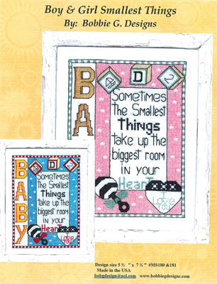Boy & Girl Smallest Things - Bobbie G. Designs