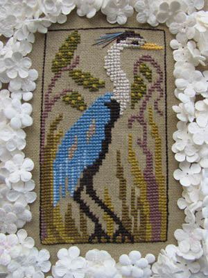 Birds of a Funky Feather #8 - By The Bay Needleart