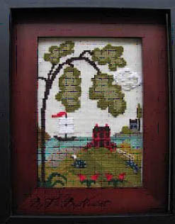 Nantucket Village #1 - By The Bay Needleart