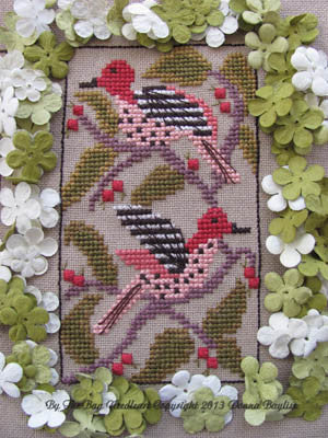 Birds of a Funky Feather #9 - By The Bay Needleart