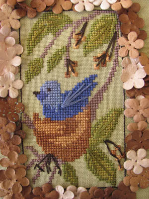 Birds of a Funky Feather #10 - By The Bay Needleart