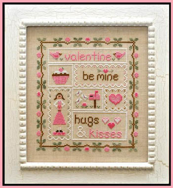 Be Mine Valentine - Country Cottage Needleworks