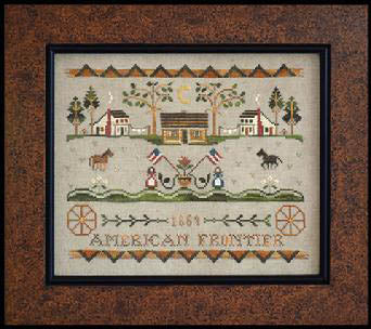 American Frontier - Tumbleweeds 3 - Little House Needleworks