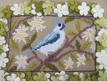 Birds of a Funky Feather #11 - By The Bay Needleart