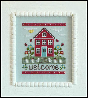 Welcome Home - Country Cottage Needleworks