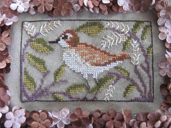 Birds of a Funky Feather #12 - By The Bay Needleart