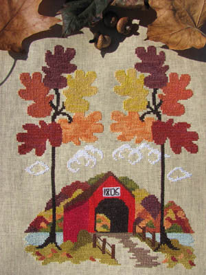 Autumn in Vermont - By The Bay Needleart