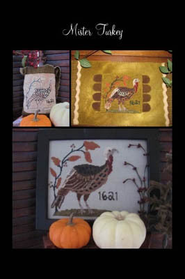Mister Turkey - By The Bay Needleart