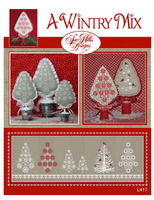 A Wintery Mix - Sue Hillis Designs