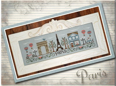 Afternoon In Paris - Country Cottage Needleworks