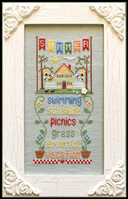 Seasonal Celebrations, Summer - Country Cottage Needleworks