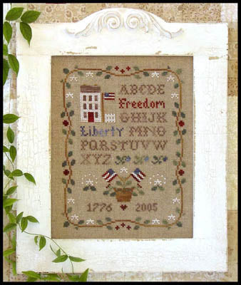 Americana Sampling - Little House Needleworks