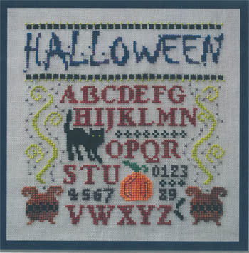 Mini Halloween Sampler - Turquoise Graphics & Design