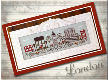 Afternoon In London - Country Cottage Needleworks