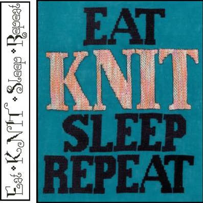 Knit Repeat - Xs and Ohs