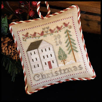2016 Christmas Ornament - Little House Needleworks