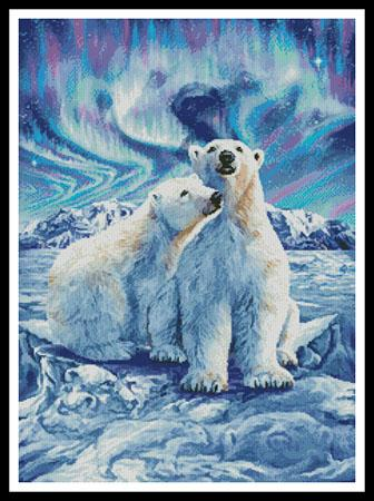 10 Polar Bears - Artecy Cross Stitch