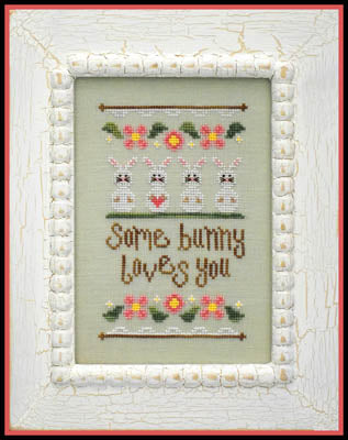 Some Bunny Loves You - Country Cottage Needleworks