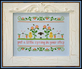 Spring In Your Step - Country Cottage Needleworks