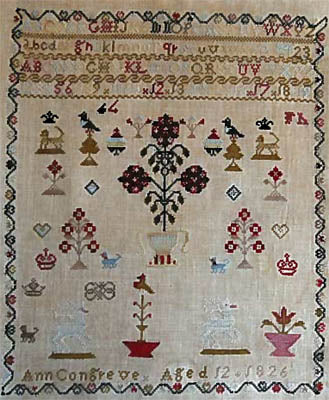 Ann Congreve Sampler - Stacy Nash Primitives