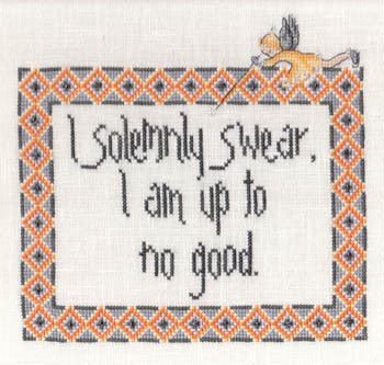 I Solemnly Swear I Am Up To No Good - MarNic Designs