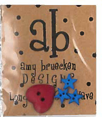 Long May She Wave Embellishment Pack - Amy Bruecken Designs