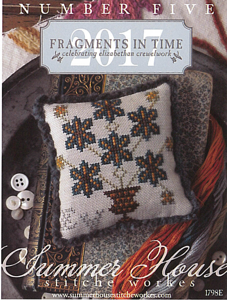 Fragments In Time 2017 #5 - Summer House Stitche Workes