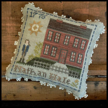 Early American, Nathan Hale - Little House Needleworks