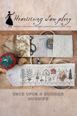 Once Upon a Summer Huswife - Heartstring Samplery