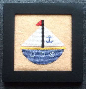 Home Decor, August Sailboat - Needle Bling Designs