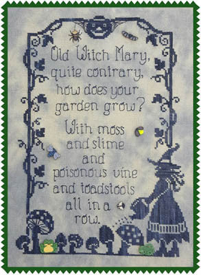 Old Witch Mary - Waxing Moon Designs