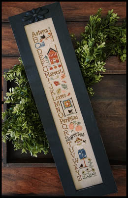 Autumn ABC's - Little House Needleworks