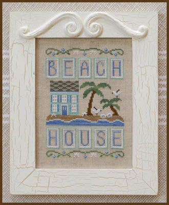 Beach House - Country Cottage Needleworks